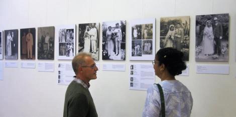 Lucia S Nankoe. Foto Jose Komen 2018 Surinaamse Trouw Portretten in Beeld 1868-1950.