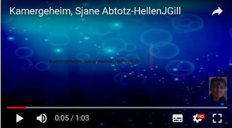 Sjane Abtotz is a virtual alterego of HellenJGill, who lives behind The Horizon (8Ter De Horizon, Kimmeland, Aarde). Prod. Hellen Gill and Friends2019.